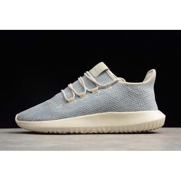 Men's/Women's Adidas Originals Tubular Shadow Knit Tactile Blue/Brown/White