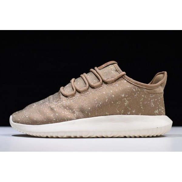 Men's Adidas Tubular Shadow Jacquard Brown