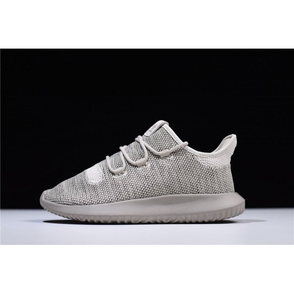 Men's/Women's Adidas Tubular Shadow Knit Grey Shoes