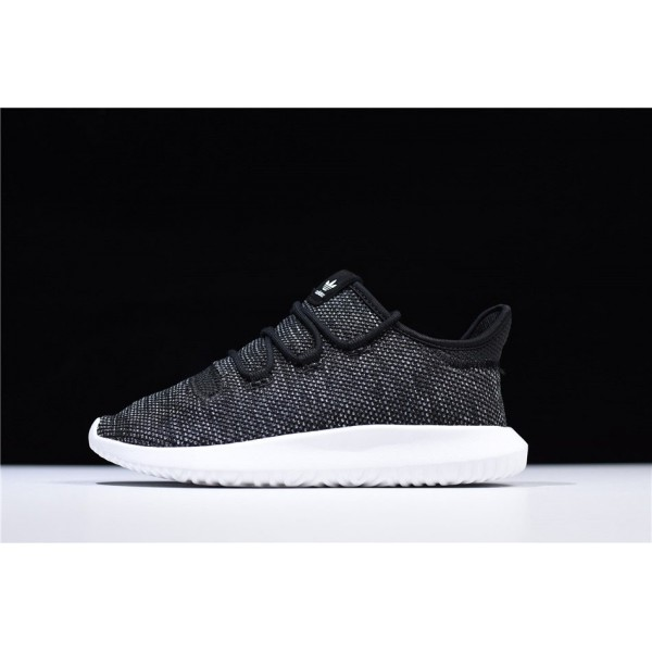 Men's/Women's Adidas Tubular Shadow Knit Black/White Shoes
