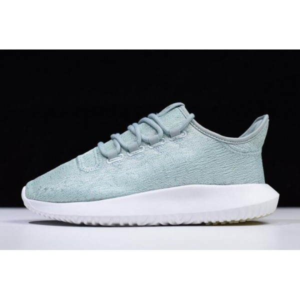 Women's Adidas Tubular Shadow Green/White Shoes
