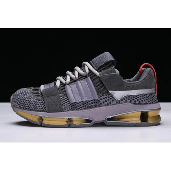 Men's Adidas Twinstrike ADV A//D Grey/Clear Granite/Bright Red
