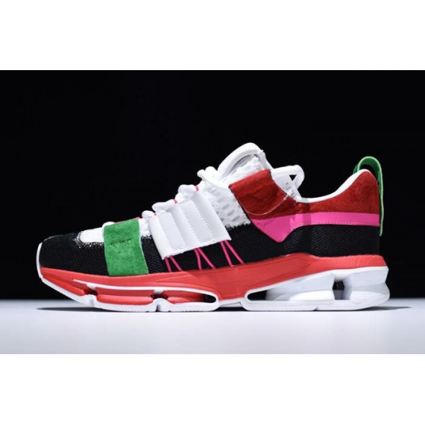 Men's/Women's Adidas Twinstrike ADV Black/White/Scarlet/Green/Pink