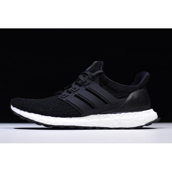 Men's/Women's New Adidas Ultra Boost 4.0 Core Black Black/White