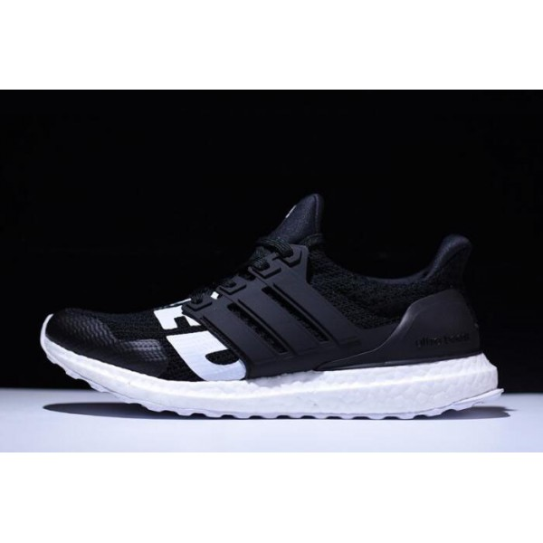 Men's Undefeated x Adidas Ultra Boost Black/White On Sale