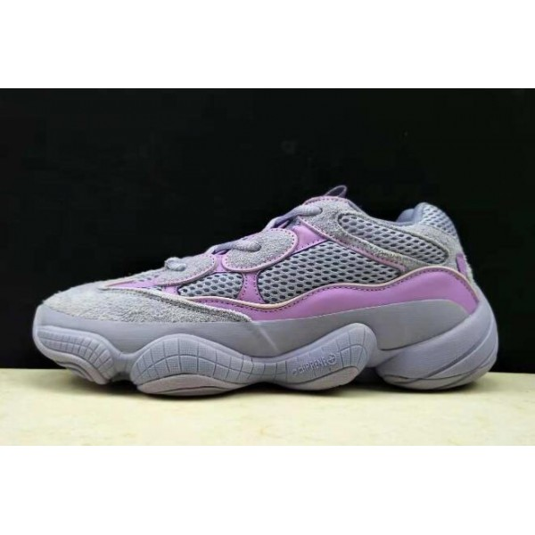 Women's Adidas Yeezy 500 Boost Grey Purple