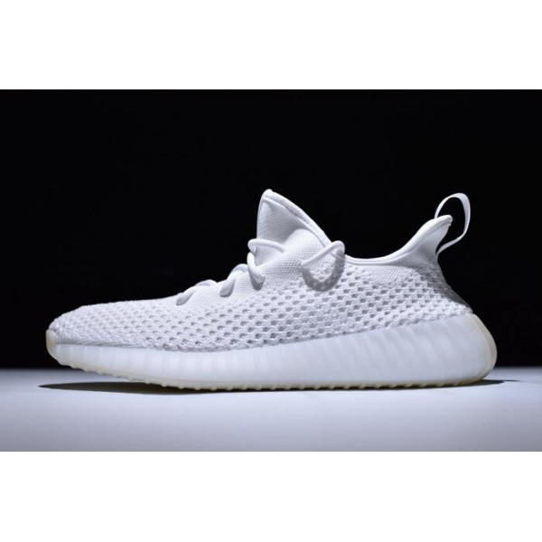 Men's/Women's New Adidas Yeezy Boost 350 V2 Clima Triple White Shoes