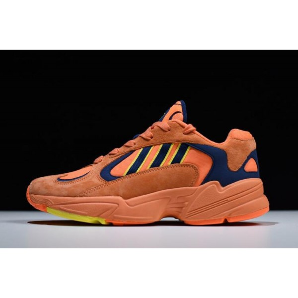 Men's/Women's Adidas Yung/1 Goku Hi/Res Orange/Shock Yellow