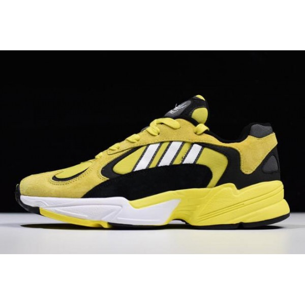 Men's Adidas Yung/1 Mango Yellow/Black/White