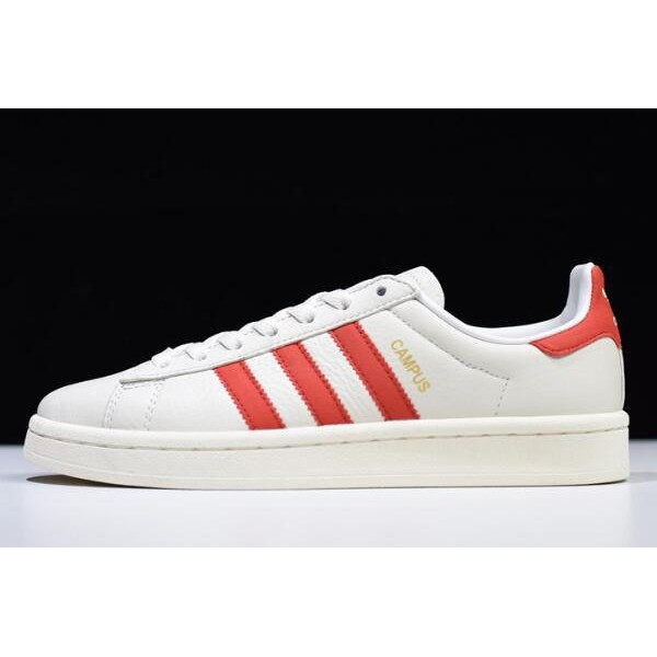 Men's/Women's Adidas Campus White/Red DB1450