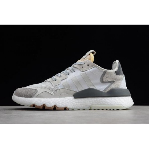 Men's/Women's Adidas Nite Jogger 2019 Grey/White
