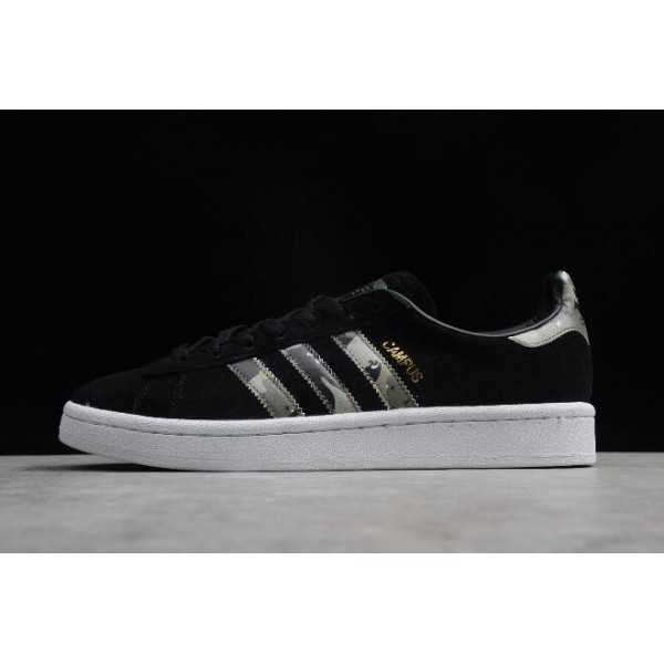 Men's/Women's Adidas Originals Campus Black/Trace Cargo/Crystal White