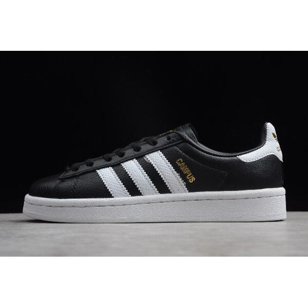 Men's/Women's Adidas Originals Campus Black/White/Metallic Gold