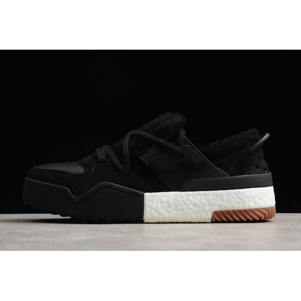Men's Adidas Alexander Wang Bball Low Black Suede