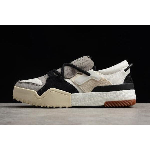 Men's Adidas Alexander Wang Bball Low White/Grey/Black On Sale
