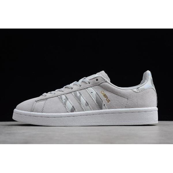Men's/Women's New Adidas Campus LGH Solid Grey/FTWR White