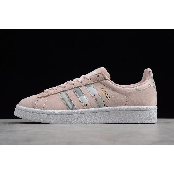 Women's New Adidas Campus Pink/White