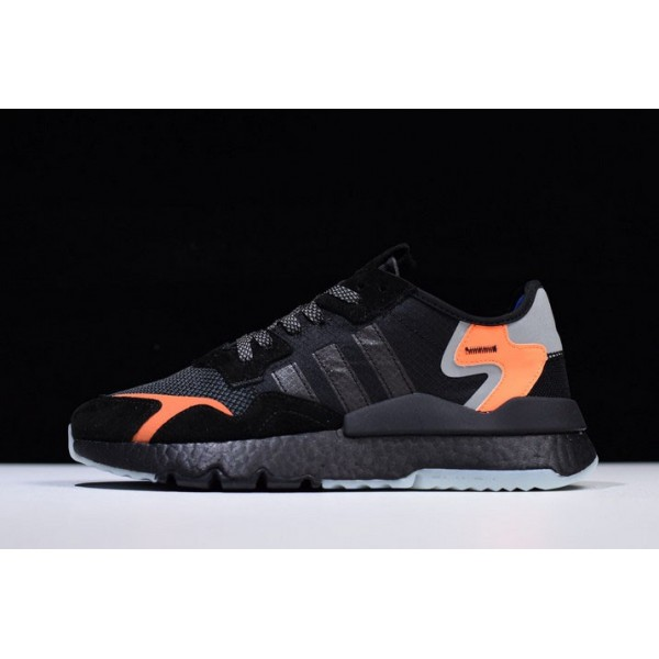 Men's/Women's New Adidas EQT ZX Black/Orange/Grey