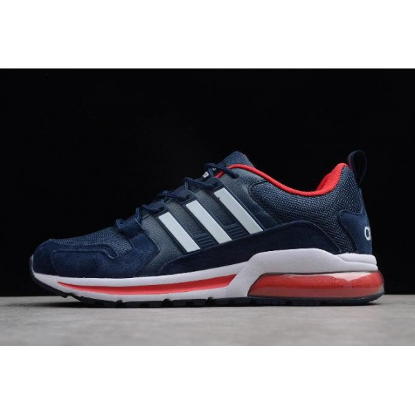 Men's New Adidas Tubular Navy Blue/Red/White