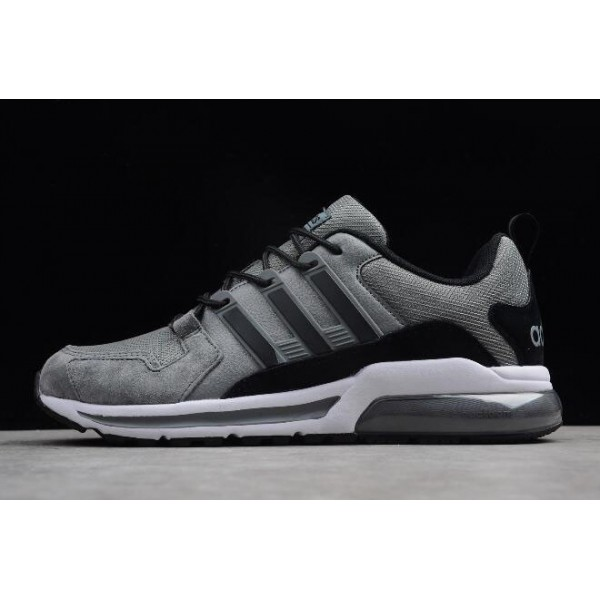 Men's New Adidas Tubular Running Grey/Black AS1961