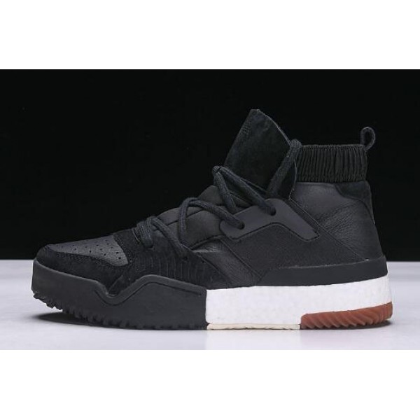 Men's New Adidas x Alexander Wang Bball High Black/White