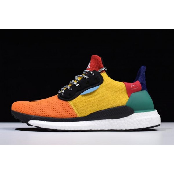 Men's Pharrell x Adidas Solar Supplier Colour/Bold Gold/Bold Green